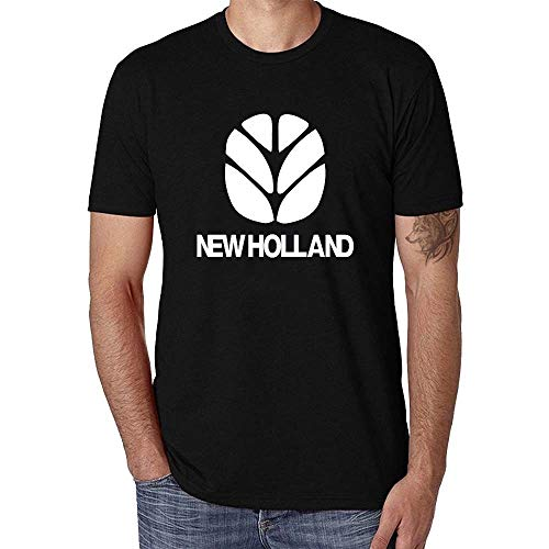 Casual Newest Short Sleeved Fashion Cotton New Holland Tractors Farm Funny Men T-Shirt