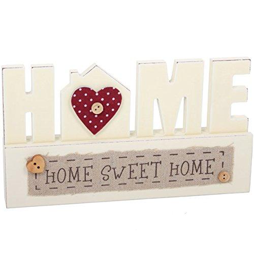 """Pulsante Home-Targa in legno """"a supporto a forma di bottone, motivo:"""