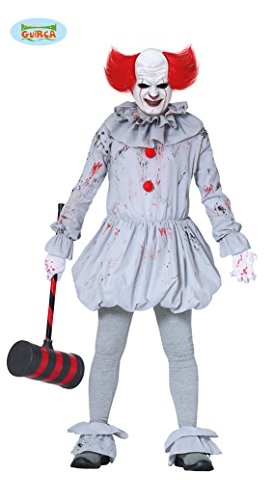 (Guirca Killer Clown Es Halloween Kostüm Herren)