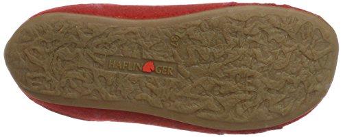 Haflinger Everest Pia, Chaussons Mules femme Rot (Rubin)