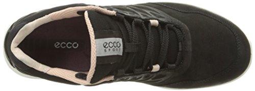 Ecco Exceed, Baskets Athlétiques Basses Pour Femmes (2001 Noir)