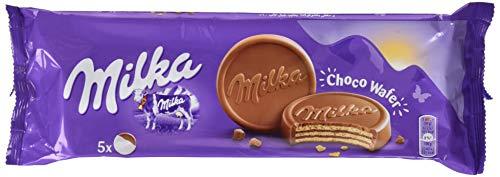 Milka Choco Wafer - Waffel mit Kakaocreme Füllung umhüllt von Alpenmilch Schokolade - 14 x 150 g