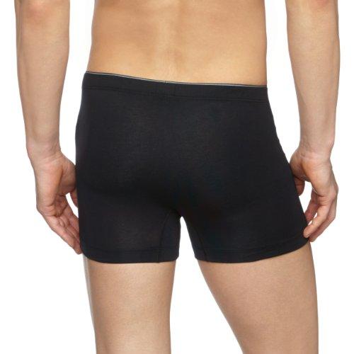 Schiesser Herren Unterhose Shorts Schwarz (schwarz 000)