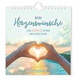 "Postkartenkalender 2020 ""Herzenswünsche"" -"