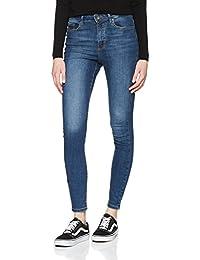 VERO MODA Damen Vmsophia Hw Skinny Jeans Md Bl Noos