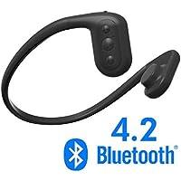 Tayogo Waterproof Headphones, BLUETOOTH MP3 Player, Bone Conduction Technology, IPX8 Waterproof, Powerful Mobile Phone APP