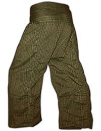 Panasiam® Thai Fisherman pants, der echte Klassiker, S-L und XL, 13 verschiedenen Farben, mit Tasche, aus echter B.wolle, aus kleinen Familienbetrieben