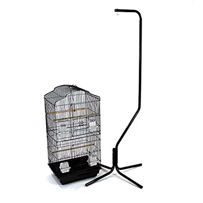 Easipet Large Metal Bird Cage with Stand Suitable For Multiple Birds by Easipet