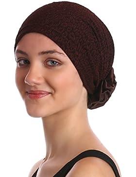 Sombrero del Brocado con la Rosa