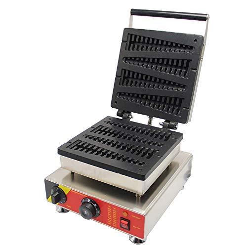 cgoldenwall np-501 4 Commercial Waffel Toaster Waffelautomat no-stick Waffle Baker Waffelautomat Waffeleisen Maschine (Lolly) 220 V CE Zertifizierung