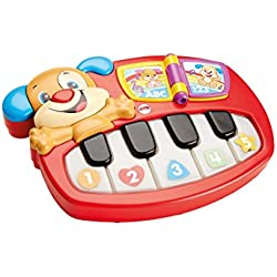 Infant - Piano perrito, para aprendizaje Fisher-Price (Mattel DLD24)