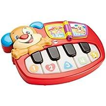 Fisher-Price - Piano perrito para aprendizaje (Mattel DLD24)