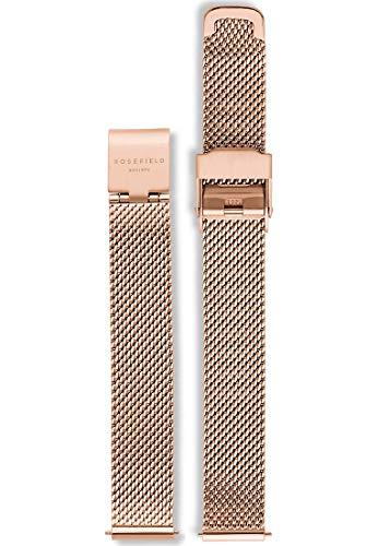Rosefield Damen Edelstahl Uhrenarmband 26RG-S158