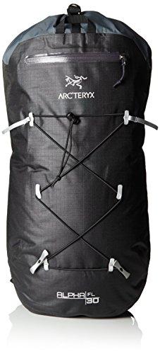 Arcteryx Erwachsene Rucksack Alpha FL Backpack, Black, 18 x 30 x 65 cm, 30 Liter, 244306 (Alpina Schlüsselanhänger)