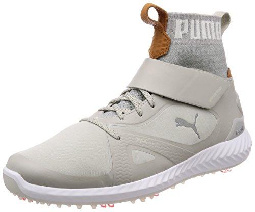 Puma Chaussures de Golf pour Homme - Gris - Grau Violet/Silber, 8 UK