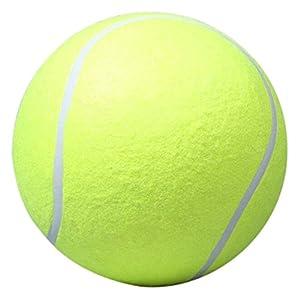 Highplus Grand Chien Chiot Animal Domestique Lanceur de ramassage de Lanceur de Balle de Tennis Géant Chien Jouer Jouet pour l'entraînement d'exercice 24,1cm