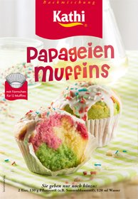 Kathi Backmischung Papagei Muffins Ostprodukt 460g
