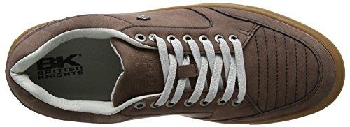 Cavalieri Britannici Herren Tudor Sneaker Braun (dk Brown / Crepe)