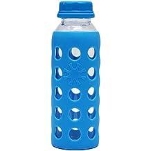 BESTONZON Botella de Agua de Cristal de borosilicato para café, Zumo, Leche, Botella