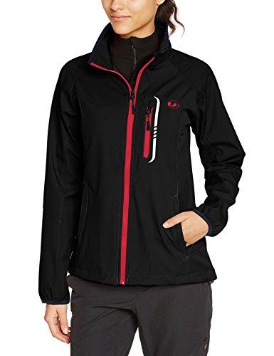 Ultrasport Women's Women Function Softshelljacket - Black/Dubarry, X-Small