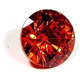 Urancia® Red Zircon Lal Zircon Uparatna Stone Baikrantamoni Zargun Jarkan Stone 6.3Cts Lab Certified For Ring
