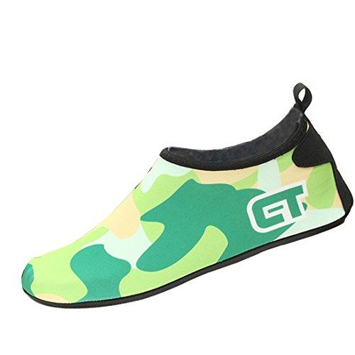 Gaorui , Jungen Aquaschuhe Grün