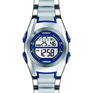 Oxbow Jungen-Armbanduhr Digital Kautschuk grau 4523702