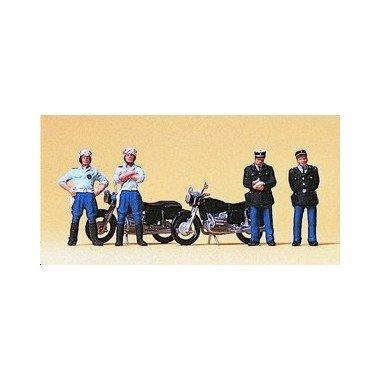 Preiser 1/87 Ème - PR10191 - Modélisme Ferroviaire - Gendarmerie Française