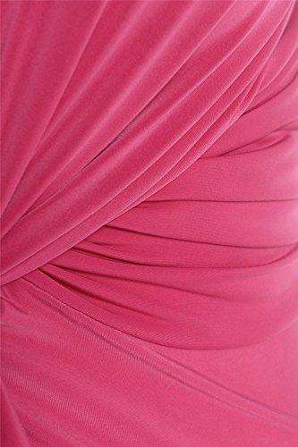 Chocolate Pickle ® Nouveau Femmes Plus Size Twist Knot Groupe Celebrity Maxi robe de soirée Cerise