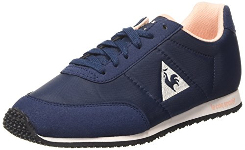 Le Coq Sportif Racerone Classic, Sneakers da Donna, Colore Blu (Dress Blue/Tropical Peach), Taglia 4 UK (37 EU)
