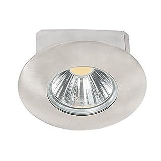 nobilé Downlight A 5068 T Flat IP44 nickel-gebürstet 8W, 38 Grad, warmweiß NO-1856670923