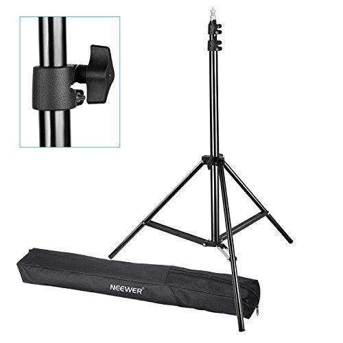 Neewer Pro 6Füße/190cm Fotografie Licht Steht mit, der Fall für Reflektoren, Softboxen, Beleuchtung, Sonnenschirme, Hintergründe, etc.