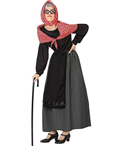 Frau M / L (Alte Frau Kostüm)