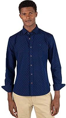 El Ganso 2 Camisa casual, Azul (Indigo 0062), mall para Hombre