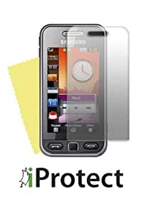 "iprotect ORIGINAL Samsung S5230 Star / S-5230 - Displayschutz ""CrystalClear"" Schutzfolien MADE IN GERMANY"