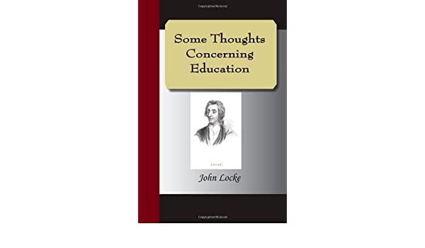 Buy Some Thoughts Concerning Education Book Online At Low Prices In India
