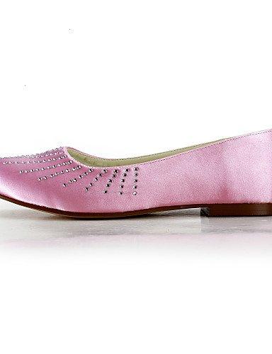 WSS 2016 Chaussures de mariage-Noir / Bleu / Jaune / Rose / Violet / Rouge / Blanc / Argent / Or / Beige / Amande-Mariage / Habillé / Soirée & under 1in-white