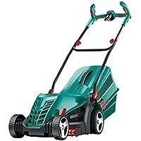Bosch ARM 33 Push lawn mower AC Black, Cyan - Lawn Mowers (Push lawn mower, 34 cm, 2 cm, 7 cm, Rotary blades, 20-70) - Trova i prezzi più bassi