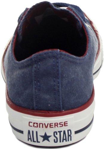 Converse Ct Bas Wash Ox 287140-55-52, Sneaker unisex adulto Azzuro