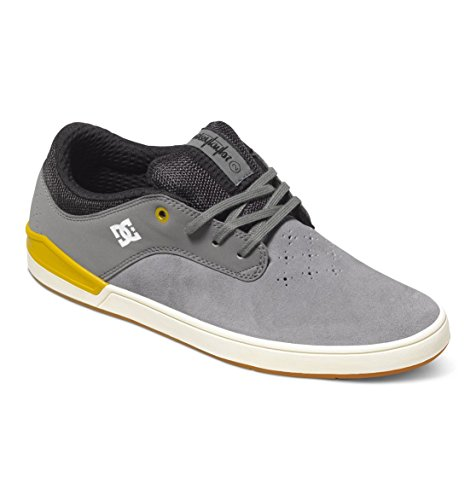 DC Shoes Mikey Taylor 2 S - Chaussures basses pour homme ADYS100202 Gris - Grey/Yellow
