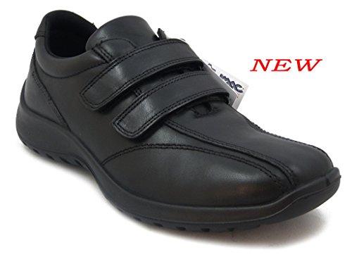 OSVALDO PERICOLI - Zapatillas para hombre negro Size: 41 fMI4a