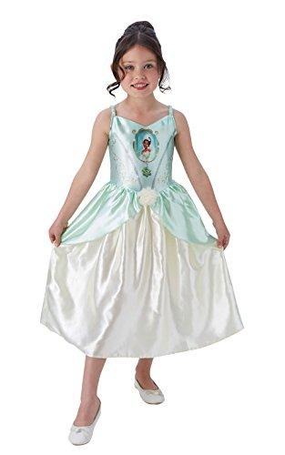Rubie's Offizielles Tiana Mädchen Fancy Kleid Disney Princess Fairytale Buch Kinder Kostüm