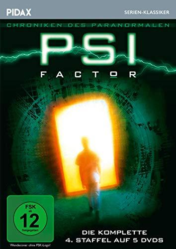 PSI Factor - Chroniken des Paranormalen, Staffel 4 / Weitere 22 Folgen der Mystery-Kultserie (Pidax Serien-Klassiker) [5 DVDs]