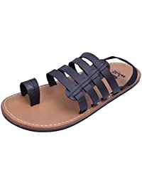 Stylos Men's 658 Leather Sandals