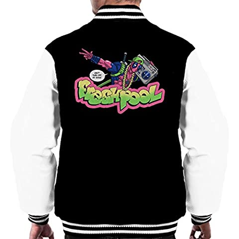 Fresh Pool Deadpool Fresh Prince Of Bel Air Men's Varsity Jacket