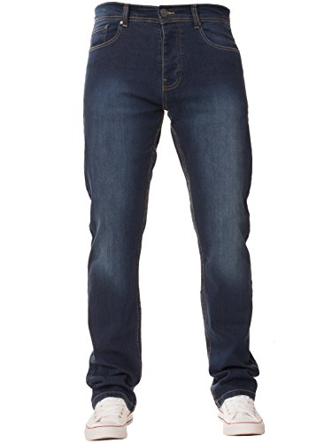 New Mens ENZO Stretch Straight L...