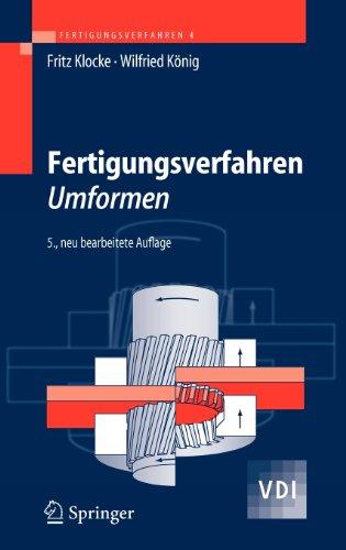 Springer Fertigungsverfahren 4: Umformen (VDI-Buch)