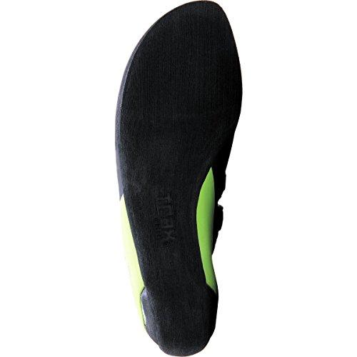 Evolv Supra Kletterschuhe schwarz grün blau