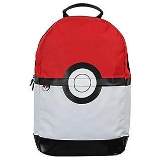 41vTCI8UY%2BL. SS324  - Pokemon Pokeball Mochila roja blanca