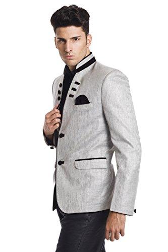 Wintage - Blazer - Homme Argenté - Argent